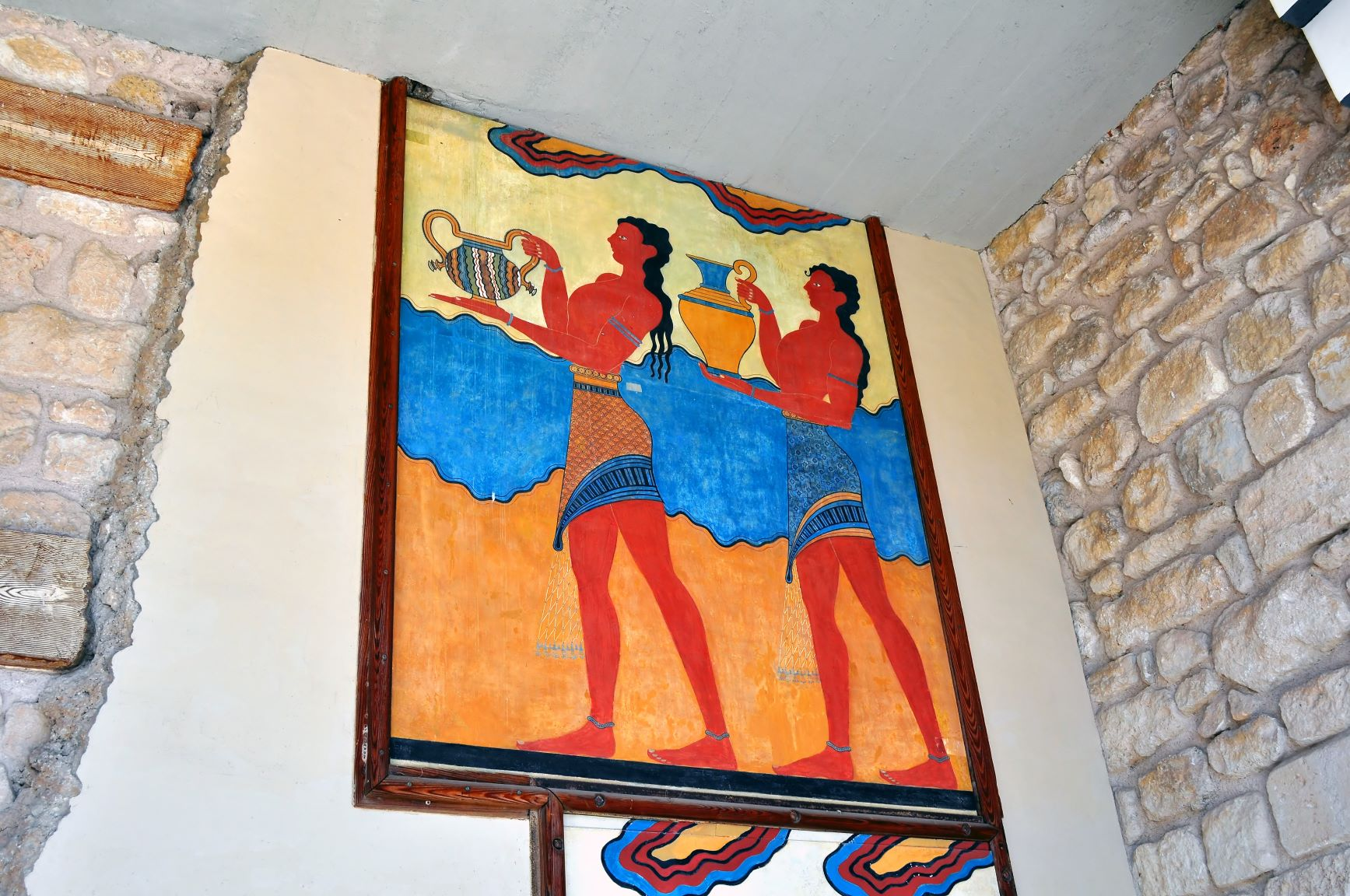 Knossos wall painting